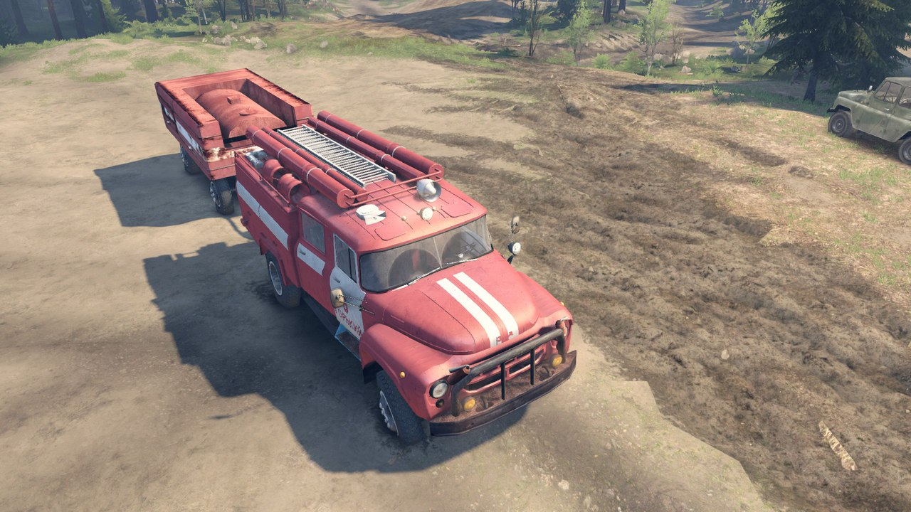 ЗиЛ 130 АЦ-40 для Spintires - Скриншот 3