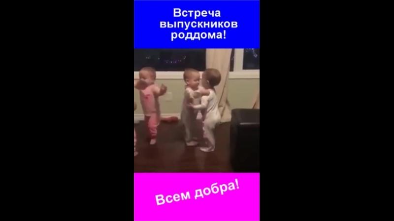 Встреча выпускников роддома.