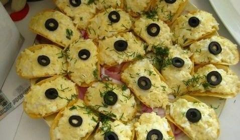 рецепты закуски на чипсах с фото