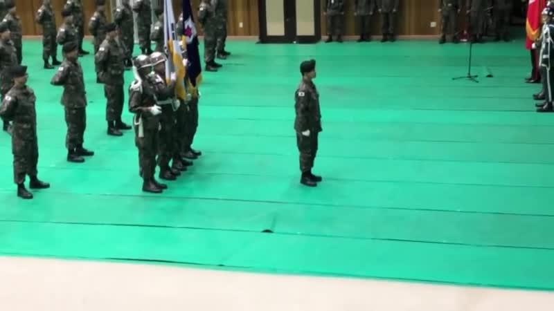 190116 Полное видео с церемоний завершения армейской подготовки