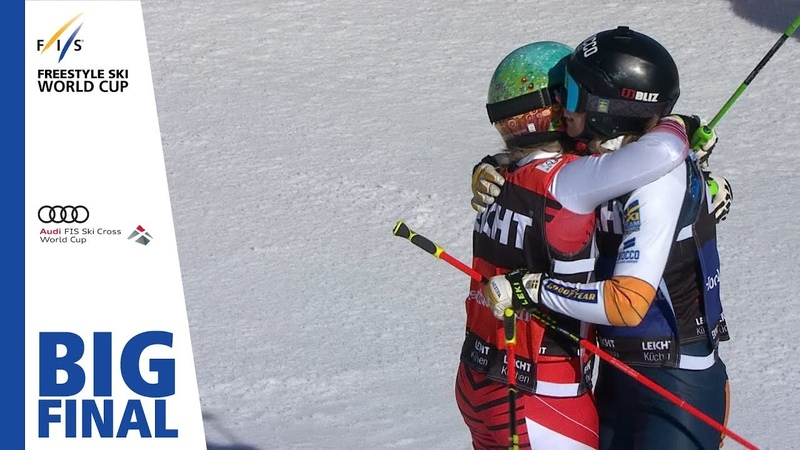 Highlights Naeslund sweeps German stage Feldberg Ladies' Ski Cross 2 FIS Freestyle Skiing