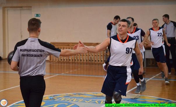 "МЛБЛ К.о., ""Адреналин"" vs ""Pro Basket"", 17.03.19"