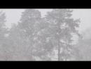 Снег релакс. Метель 7 мая 2018