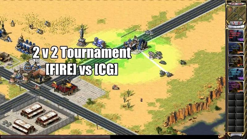 Red Alert 2 Yuris Revenge - 2v2 Tournament [Fire] vs [Cg]