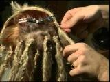 Плетение африканских косичек видео урок часть 2