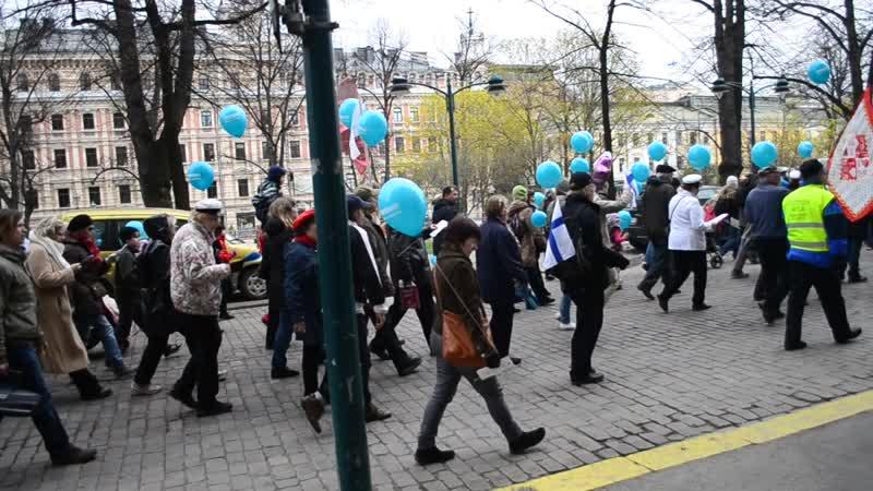 Автобусно-паромный тур Санкт-Петербург-Хельсинки-Турку-Стокгольм 1-3 мая. Хельсинки (Финляндия). Демонстрация 1 мая.