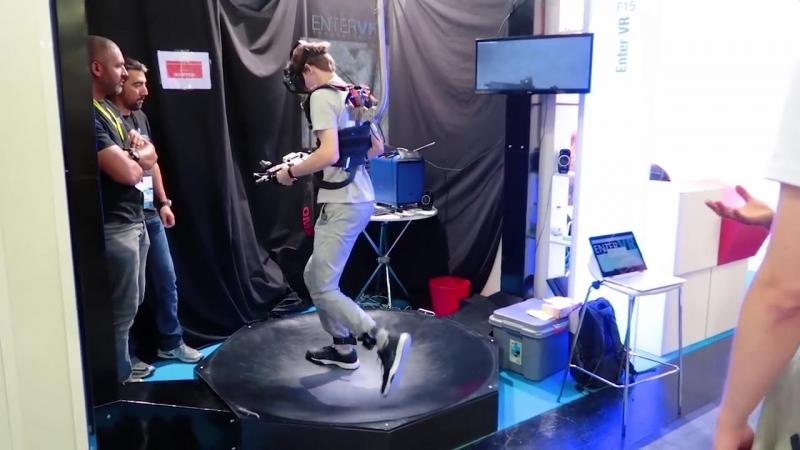 [RedCrafting VR] VR БЕГОВАЯ ДОРОЖКА, ТАКТИЛЬНЫЙ КОСТЮМ И ДР.   Gamescom 2018