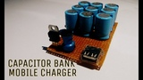 make a power bank using capacitor mobile charger super capacitor of free energy device.