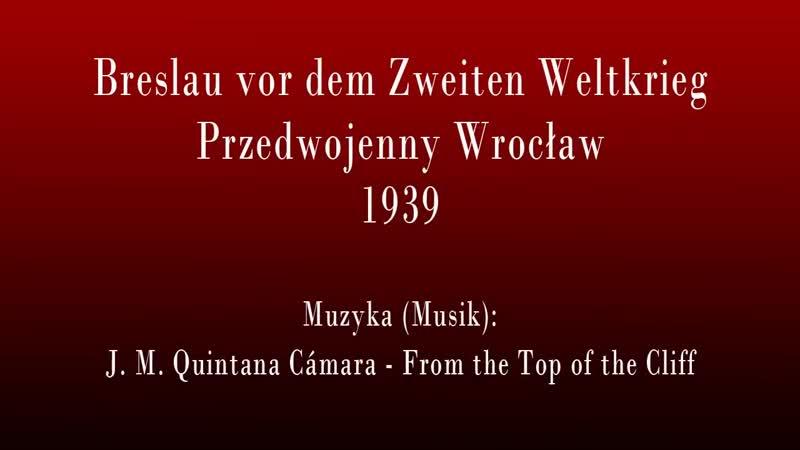 Breslau w 1939 roku Przedwojenny Wrocław