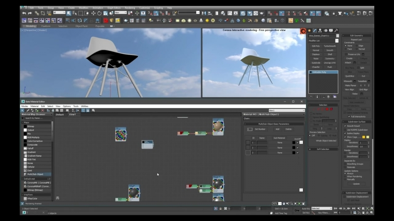Complete Project - Interior Visualization 3_6_ Materials