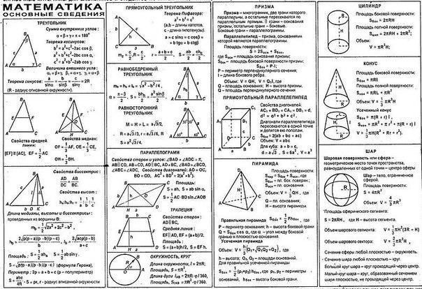 егэ по математике на: