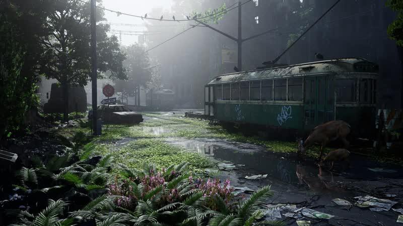Post Apocalyptic Nature Scene