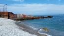 На пляже Алушты