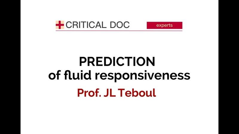Прогнозирование ответа на инфузионную нагрузку fluid responsiveness