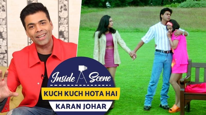 (Как снимали) Kuch Kuch Hota Hai (Все в жизни бывает) - Каджол приходит в колледж в юбке