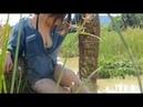 Uau Pesca De Senhora Pesca Bonita De Menina Pesca De Khmer Net Como Pegar Peixe Parte 190