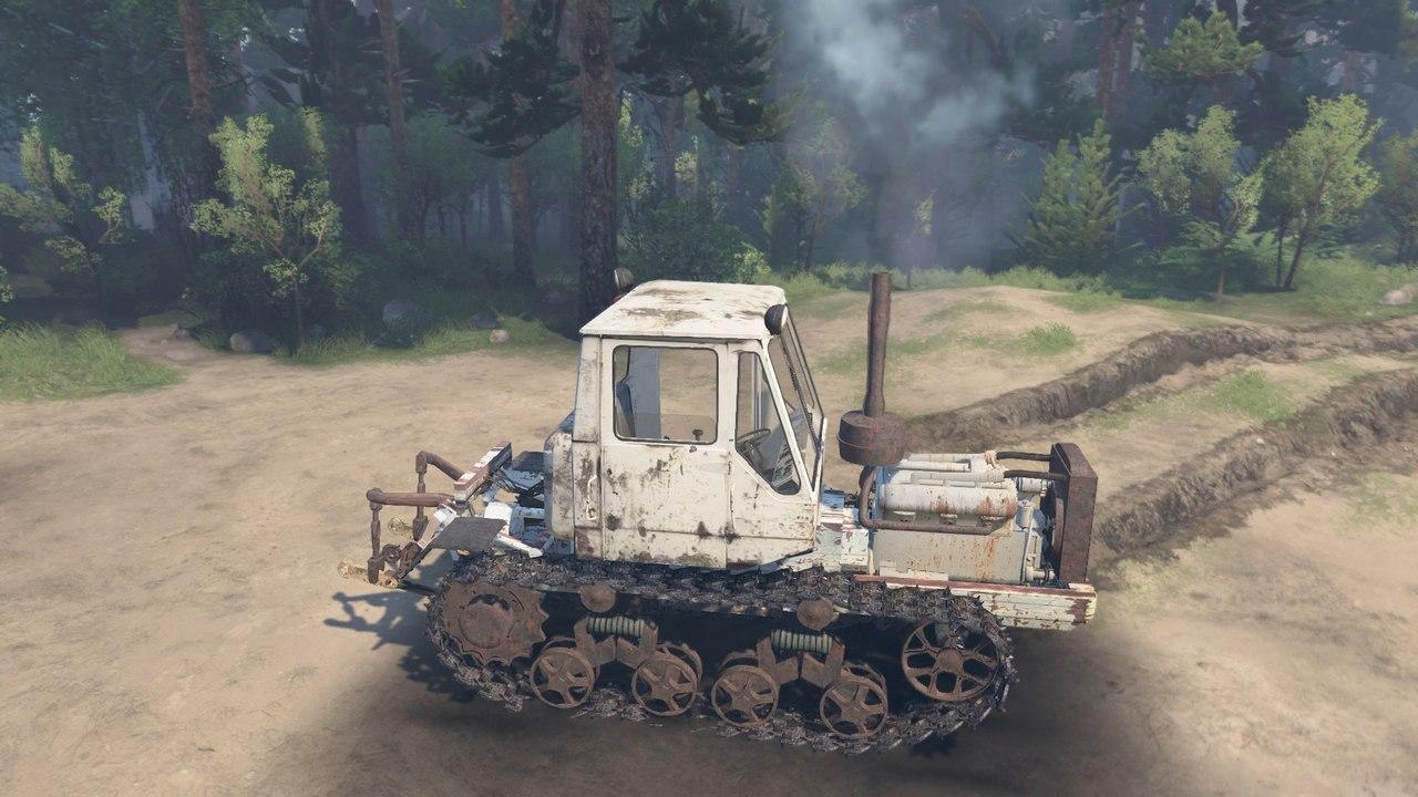 Гусеничный трактор Т-150 для 03.03.16 для Spintires - Скриншот 2