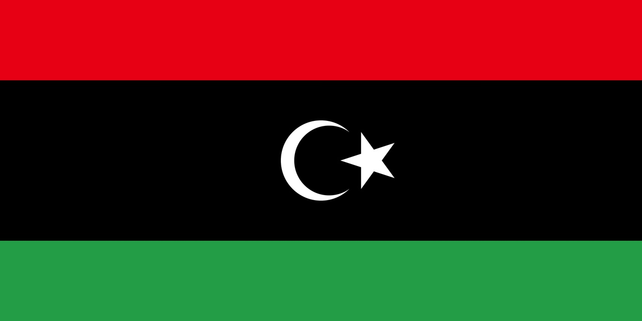 Флаг Ливия