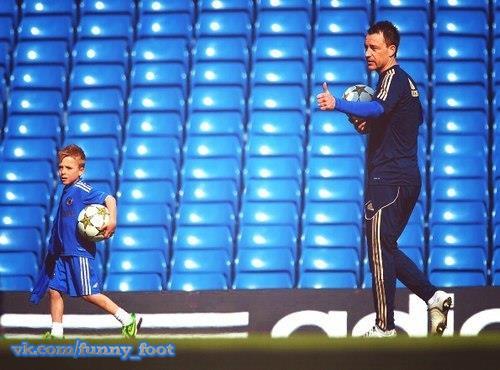 «Мой сын будет футболистом»