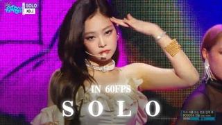 60FPS 1080P | JENNIE - SOLO, Show Music Core 20181201