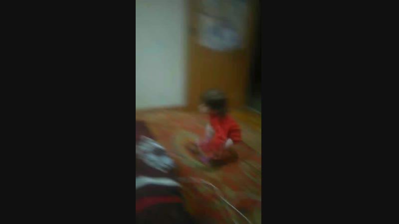 Моя младшенькая танцуля!