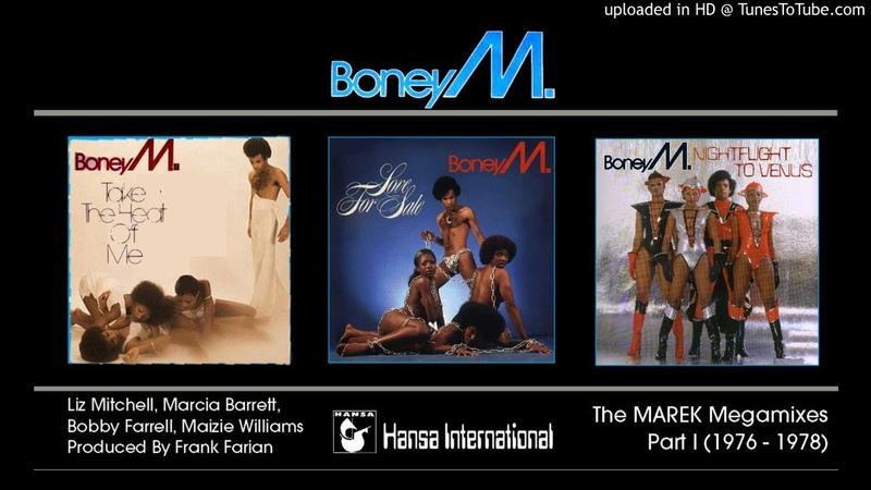 Boney M The Marek Album Megamixes Part I 1976 78