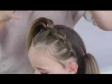 Очень милая причёска для малышки