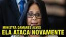 DAMARES ALVES ATACA DE NOVO E DIZ QUE PAIS DE MENINAS DEVEM FUGIR DO BRASIL