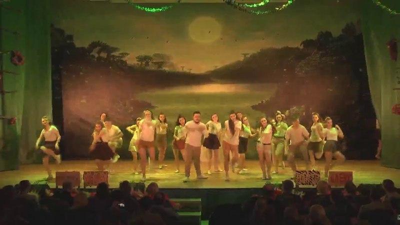 Массовый танец Открытие зоопарка
