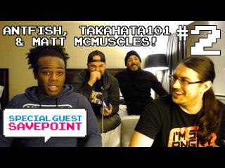 ANTFISH, TAKAHATA101 MATT MCMUSCLES talk MARVEL VOICE IMPRESSIONS! Pt 2— Special Guest Savepoint