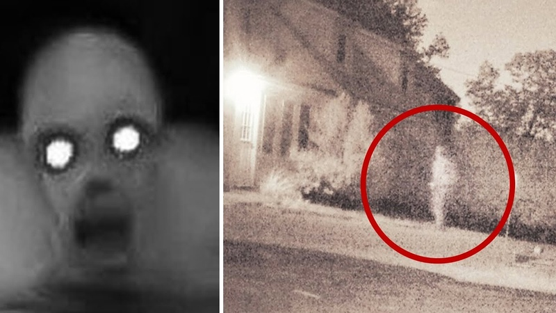 A Woman Captures Strange Mysterious Figure On Camera