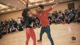 Xtreme - Caricias bachata workshop Marco &amp Sara style Seattle Salsa Congress 2018