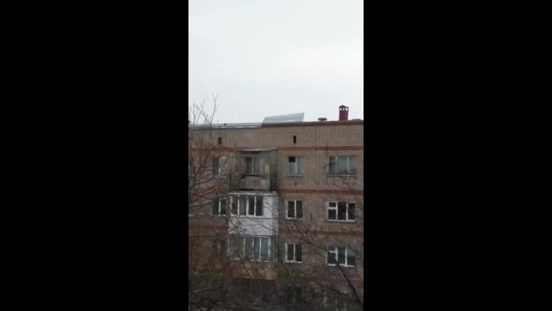 Растрепало крышу по ул 2 я Солнечная 28 06 03 2018