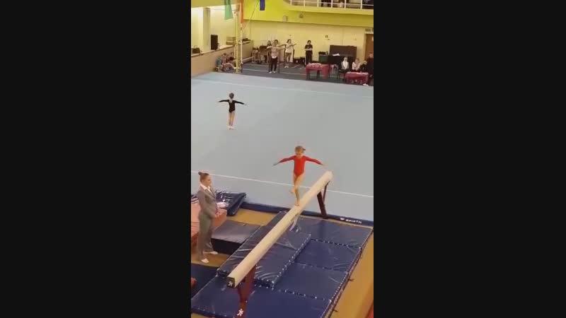 Колесникова Мария. Открытые соревнования СДЮШОР по спортивной гимнастике.
