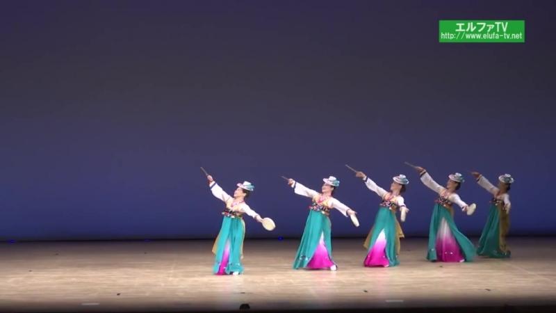 중무 효고지부 《소고놀이》 Северокорейский танец