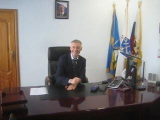 Первое совещание в кабинете главы администрации МО Шлиссельбург