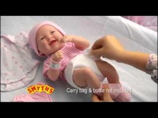 Кукла La Newborn как реальный ребенок!!!