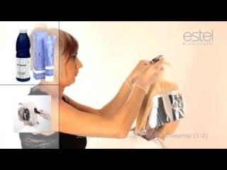 Пошаговая инструкция по работе с краской для волос Sense  Часть 2