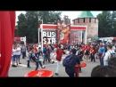 Фан-зона на площади Минина и Пожарского