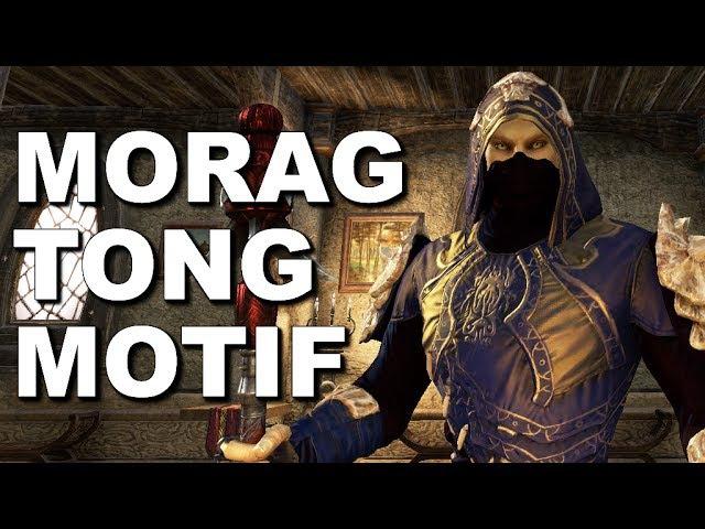 Fashion: ESO Armor Styles - Morag Tong Motif - Light, Medium, Heavy - Elder Scrolls Online