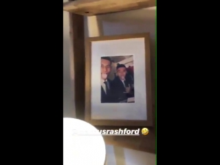Marcus Rashford has a picture of him and Jesse Lingard in his room [Ig]