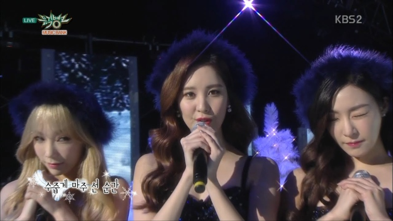 Girls' Generation-TTS 소녀시대-태티서_Comeback Stage 'Dear Santa'_KBS MUSIC BANK_2015.12.04