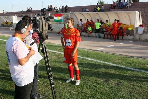 Интервью курдским СМИ