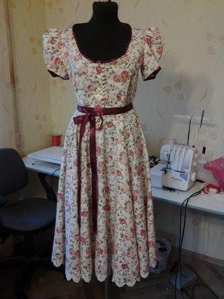 Платье в стиле прованс фото