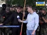 Новости 13 06 2014 Мариуполь Ляшко в прямом эфире порвал флаг ДНР