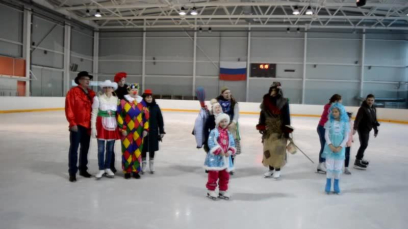 Массовое катание на коньках СИБУР Кстово
