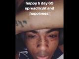 XXXtentacion поздравляет 6ix9ine с днем рождения.