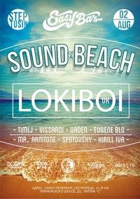 02.08.14 Sound Of A Beach/Steptusin@Easy Bar