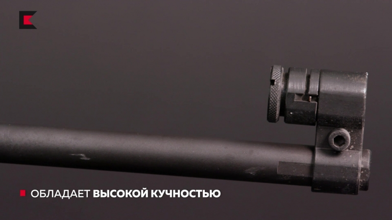 История пневматики винтовка MLG 550