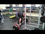 Становая тяга не в упор 320 кг на 3 раза